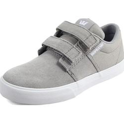 Supra - Unisex Child Stacks Ii Vulcanized Velcro Shoes