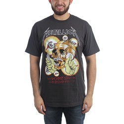 Metallica - Mens Vintage Shortest Straw T-Shirt