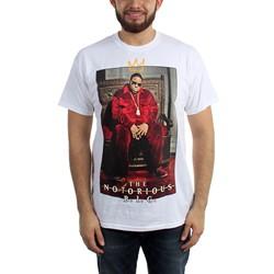 Notorious B.I.G. - Mens Biggie Crown Throne T-Shirt
