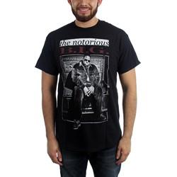 Notorious B.I.G. - Mens The Notorious B.I.G. Throne T-Shirt