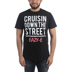 Eazy-E - Mens Crusin Down The Street T-Shirt
