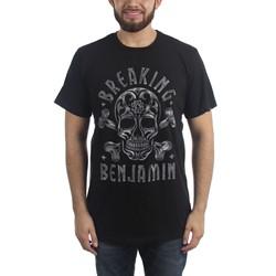 Breaking Benjamin - Mens Crossbone Skull T-Shirt