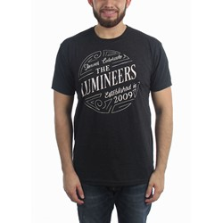 Lumineers - Mens Circle Logo T-Shirt