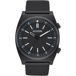 Nixon - Men's Brigade Leather Watch