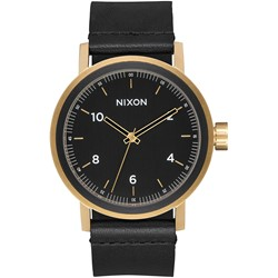 Nixon - Men's Stark Leather Watch