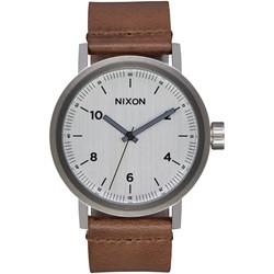 Nixon - Men's Stark Leather Watch
