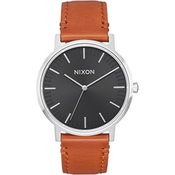 Nixon - Men's Porter 35 Leather Watch