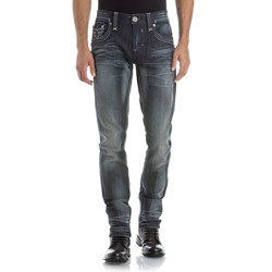 Rock Revival - Mens Tavin A5 Alt Straight Jeans