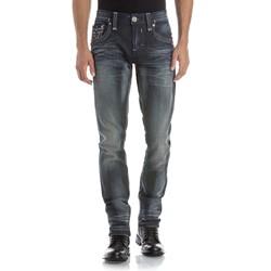Rock Revival - Mens Tavin A5 Alt Straight Jeans