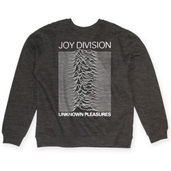 Joy Division - Mens Unknown Pleasures Crew Neck Sweatshirt