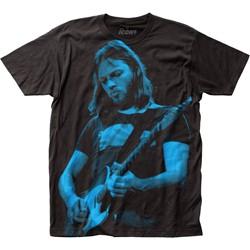 David Gilmour - Mens Icon Big Print Subway T-Shirt