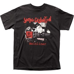 Social Distortion - Mens Mainliner Album T-Shirt