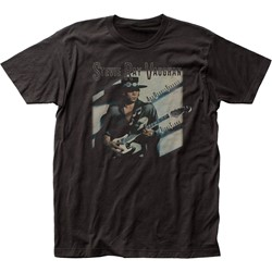 Stevie Ray Vaughan - Mens Texas Flood Fitted Jersey T-Shirt