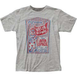 Killer Klowns From Outer Space - Mens Popcorn Box Fitted Jersey T-Shirt