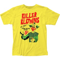 Killer Klowns - Mens 5¢ Pies Fitted Jersey T-Shirt