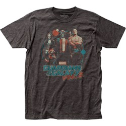 Guardians of the Galaxy - Mens Retro Fitted Jersey T-Shirt