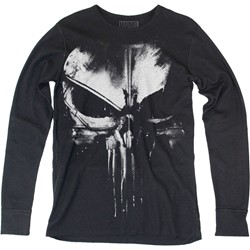 Daredevil - Mens Distressed Punisher Thermal Long Sleeve