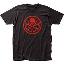 Hydra - Mens Logo Fitted Jersey T-Shirt