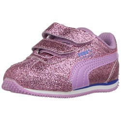 PUMA Unisex-Kids Whirlwind Glitz with Fastner Shoes