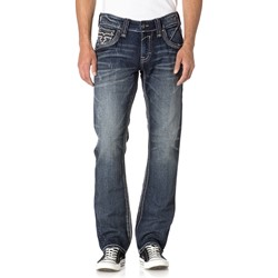 Rock Revival - Mens Elber J200 Straight Jeans