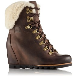 Sorel - Women's Conquest Wedge Shearling Non Shell Boot