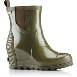 Sorel - Women's Joan Rain Wedge Chelsea Gloss Rain Boot
