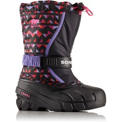 Sorel - Youth Unisex Little Flurry Print Shell Boot