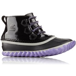 Sorel - Youth Unisex Out N About Patent Shell Boot