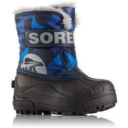 Sorel - Youth Unisex Little Snow Commander Print Shell Boot