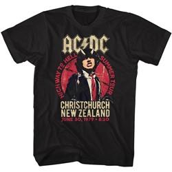 AC/DC Mens Nz Tour T-Shirt