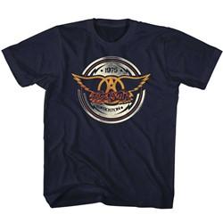 Aerosmith Unisex-Child Aerocircle T-Shirt