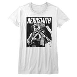 Aerosmith Womens Bw T-Shirt