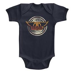 Aerosmith Unisex-Baby Aerocircle Onesie