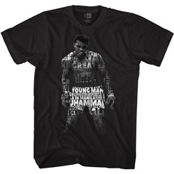 Muhammad Ali Mens Quote Me T-Shirt