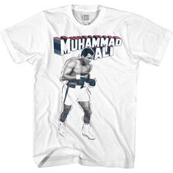 Muhammad Ali Mens Super Ali T-Shirt