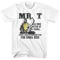 Mr. T Mens Dedsnek T-Shirt