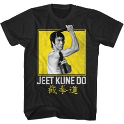 Bruce Lee Mens Boxy Jeet Kune T-Shirt