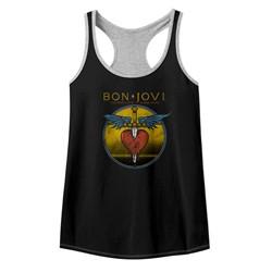 Bon Jovi Womens Bad Name Racerback Tank Top
