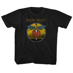Bon Jovi Unisex-Child Bad Name T-Shirt