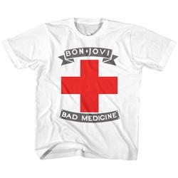Bon Jovi Unisex-Child Badmed T-Shirt