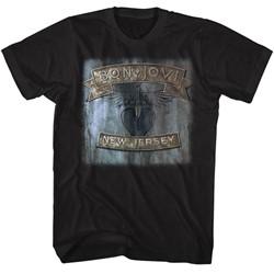 Bon Jovi Mens New Jersey T-Shirt