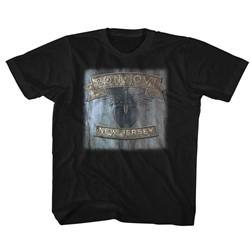 Bon Jovi Unisex-Child New Jersey T-Shirt