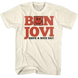 Bon Jovi Mens Have A Nice Day T-Shirt