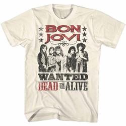 Bon Jovi Mens Dead Or Alive T-Shirt