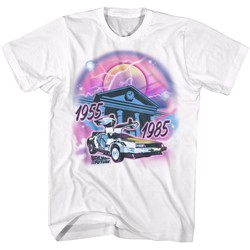 Back To The Future Mens Airbrush T-Shirt