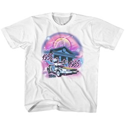 Back To The Future Unisex-Child Airbrush T-Shirt