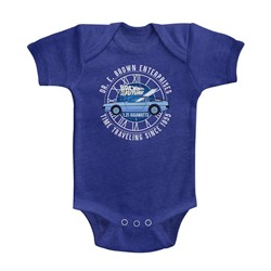 Back To The Future Unisex-Baby Dr E Brown Enterprises Onesie