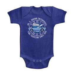 Back To The Future Unisex-Baby Dr E Brown Enterprises Onesie