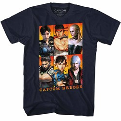 Capcom Mens Gallery T-Shirt