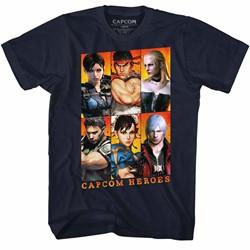 Capcom Mens Gallery T-Shirt